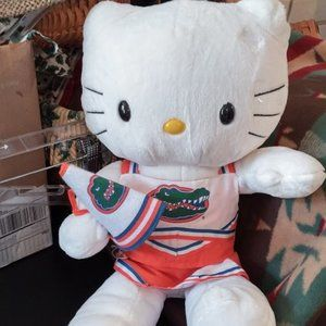 *3 FOR $30* Hello Kitty UF Gators Cheerleader